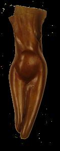 "Cicada, Bronze, 2""x2""x8"""